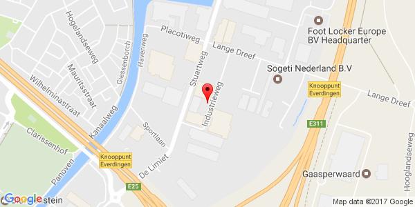 Google Map of industrieweg 13, vianen